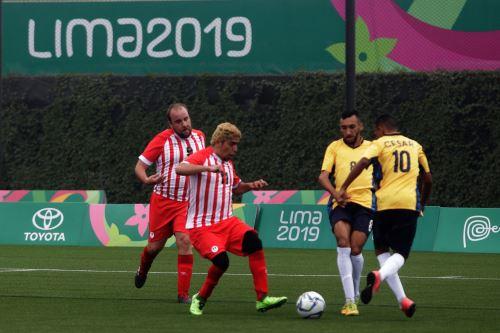 Perú pierde ante Brasil en Futbol 7 en los Juegos Parapanamericanos Lima 2019