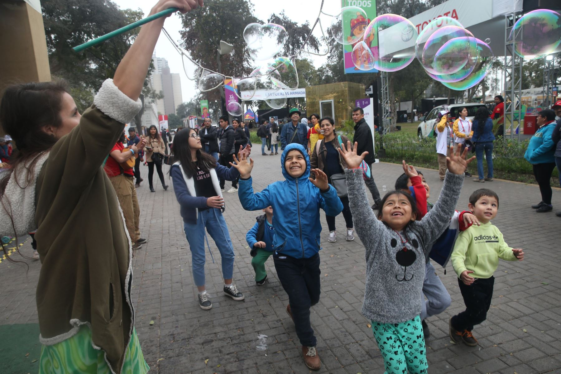 Se reinicia el programa cultural Culturaymi Lima 2019, en el marco de los Juegos Parapanamericanos Lima 2019.  Foto: ANDINA/Eddy Ramos
