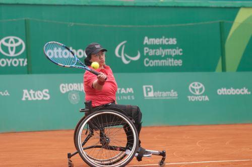 Peruana Maria Castillo gana en Tenis de silla de ruedas Pararamericanos 2019
