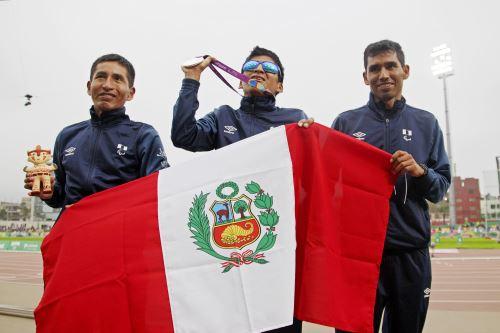 Luis Sandoval gano medalla de plata en Pararamericanos Lima 2019