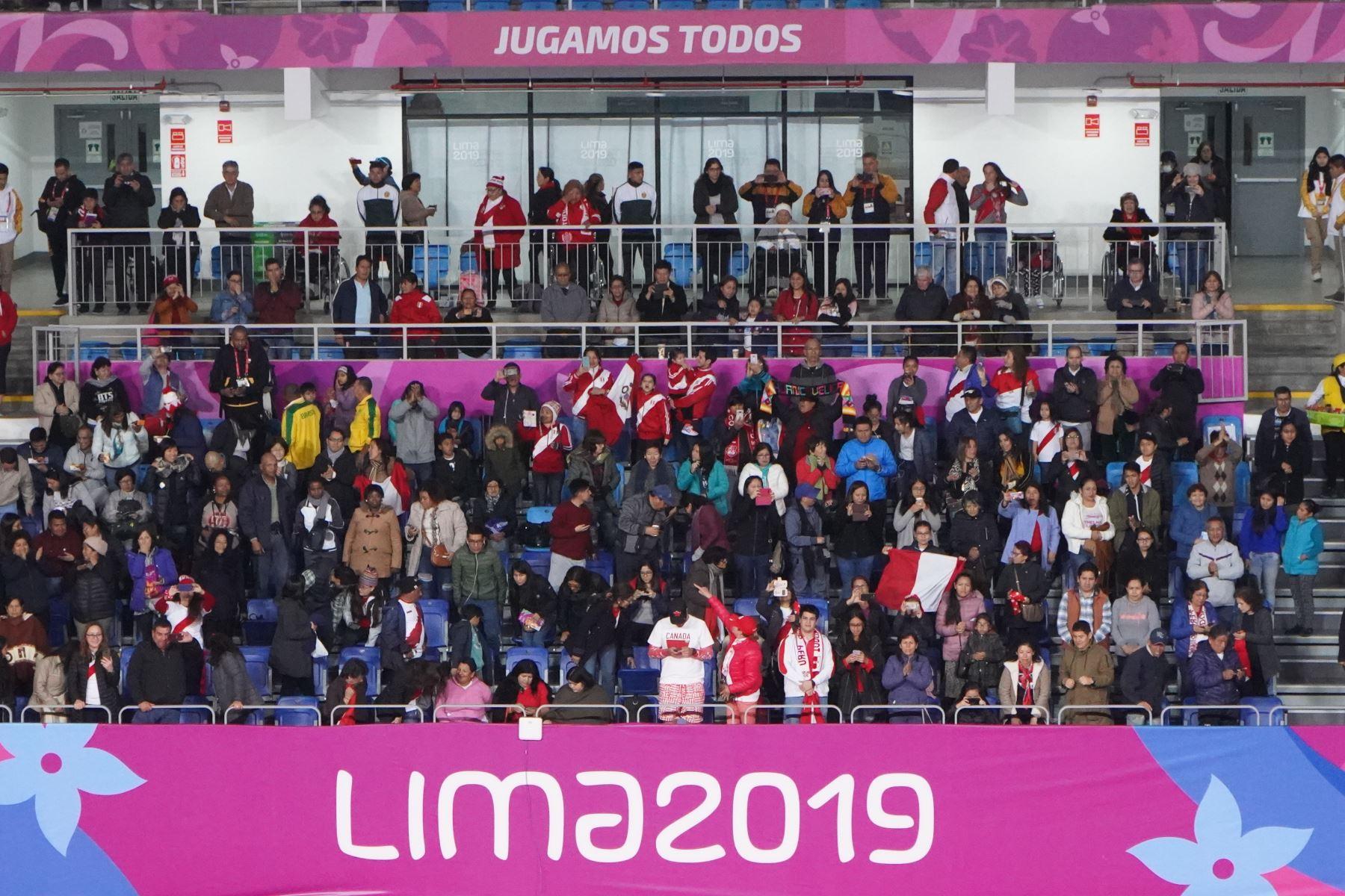 La afición peruana acude de manera masiva a alentar a los paradeportistas nacionales