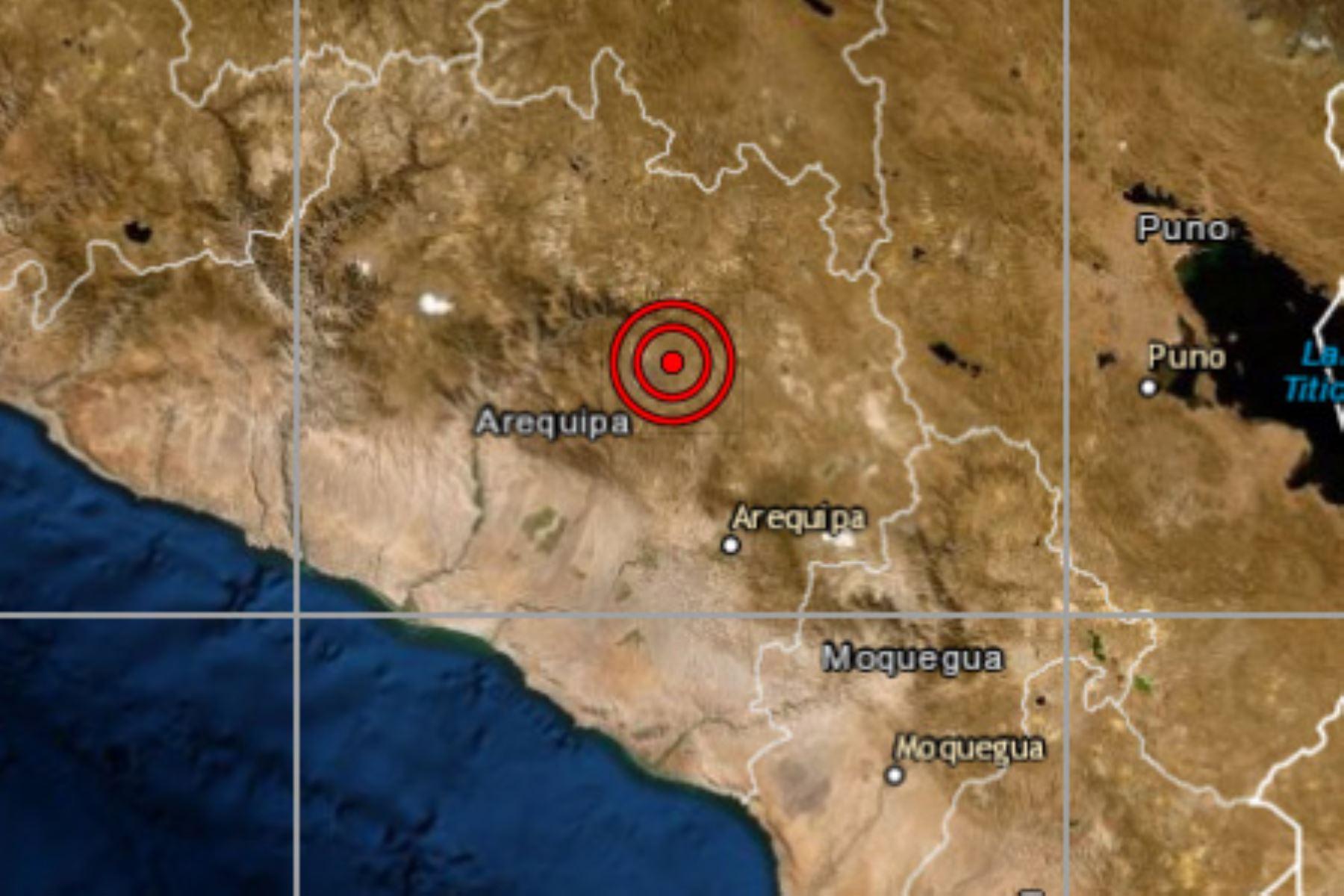 En el distrito de Maca (Arequipa) se reportó un movimiento telúrico de magnitud 3.4, informó el Instituto Geofísico del Perú. Foto: ANDINA/Difusión