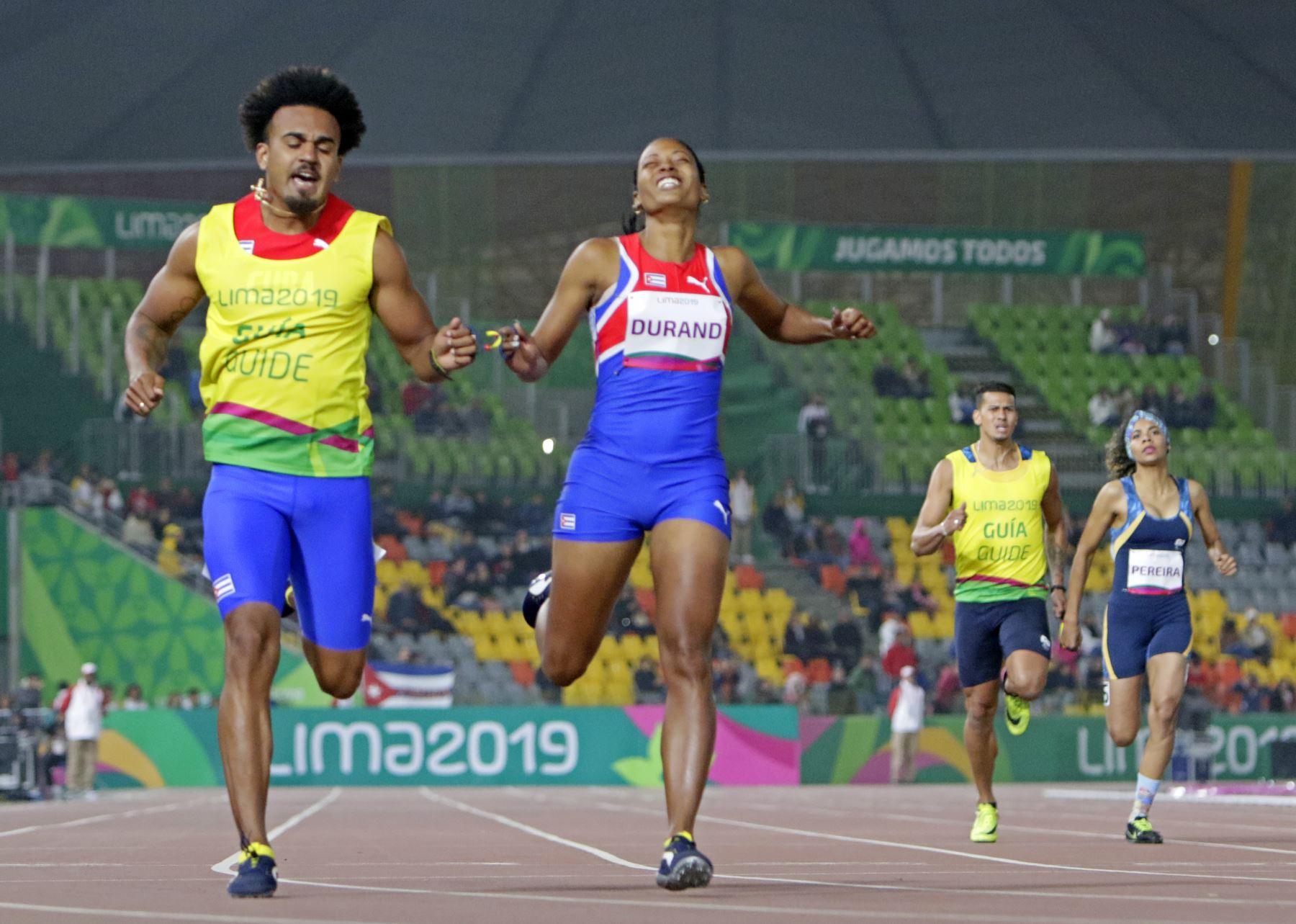 Omara Durand, La Para deportista más veloz del mundo ganó medalla de oro en los 200 metros. Foto: Lima 2019