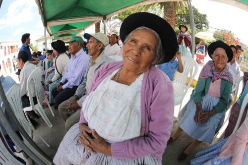 Promueven trato digno a adultos mayores. Foto: Andina/Difusión