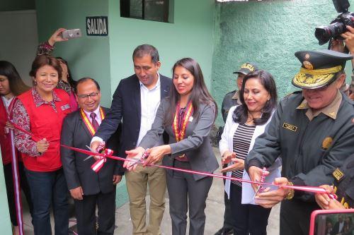 En las comisarías de Alto Perú y Villa María, provincia ancashina del Santa, funcionan desde hoy Centros Emergencia Mujer. Foto: ANDINA/Gonzalo Horna