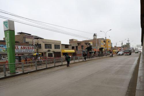Siguen obras de infraestructura vial en Lima.Sur: Andina/Difusión