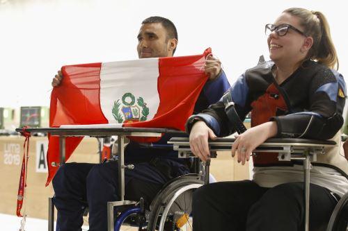 Jorge Arcela ganó medalla de plata en tiro para Perú en los Juegos Parapanamericanos Lima 2019