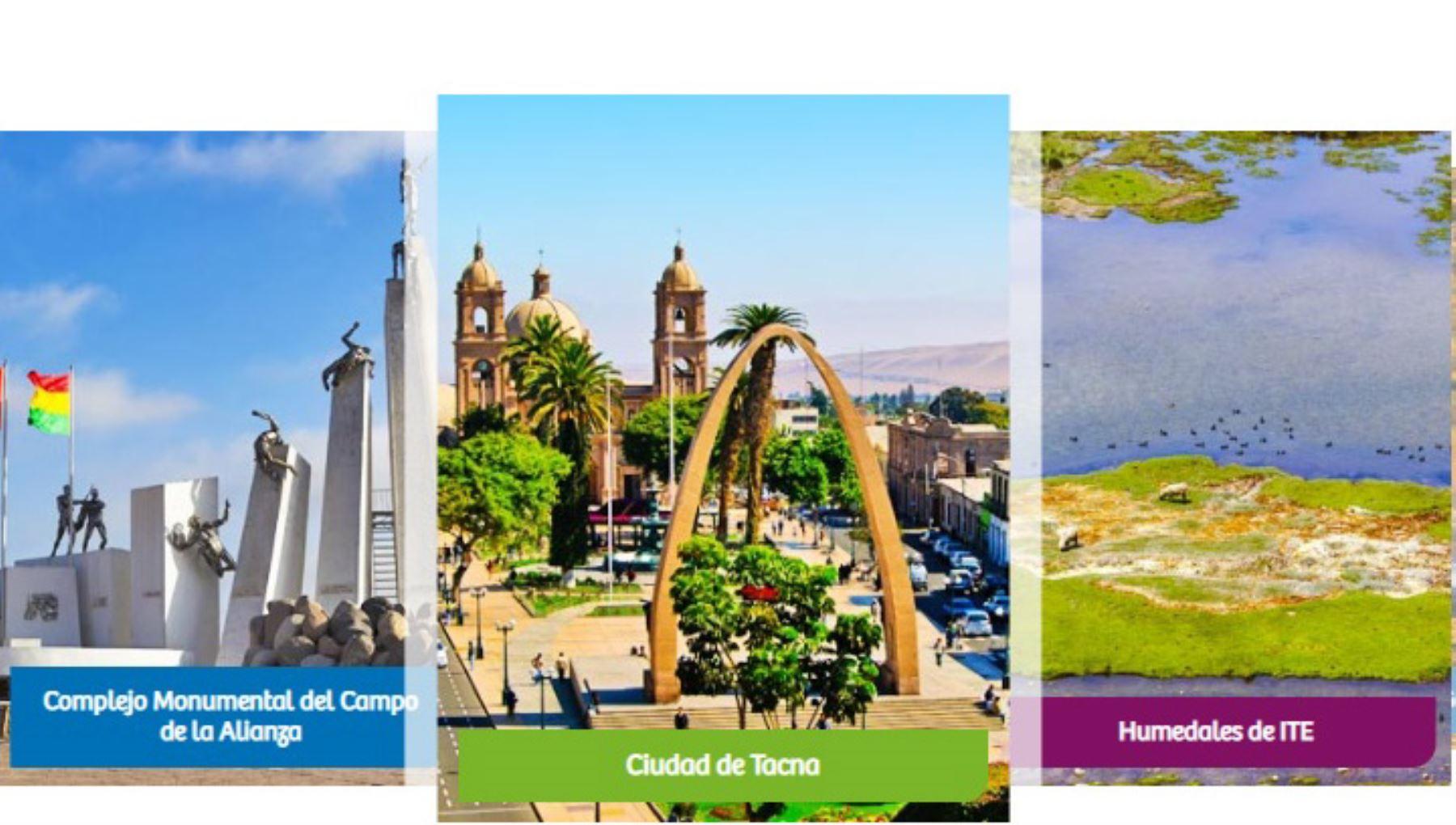 Región Tacna cuenta con diversos y encantadores atractivos turísticos.