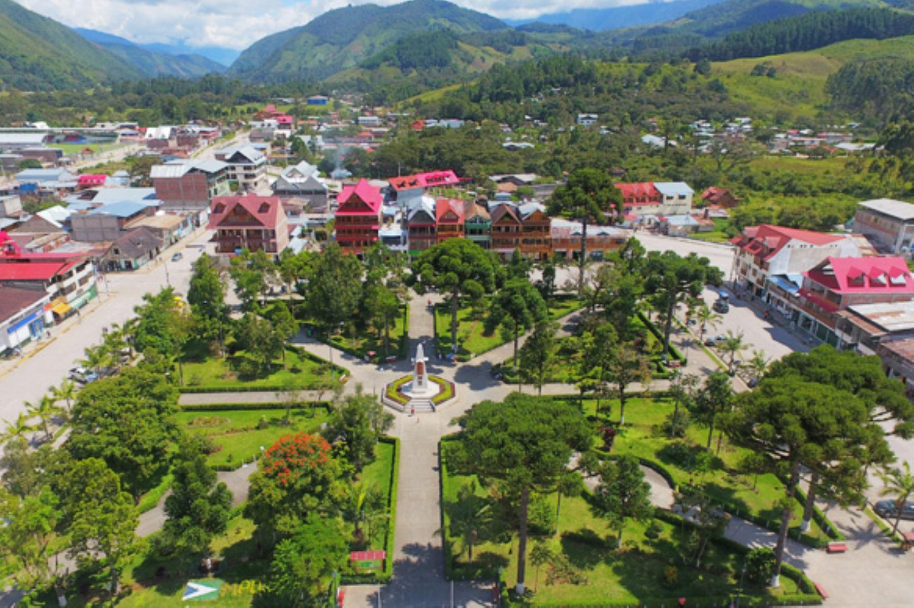 Autoridades de Defensa Civil monitorean las zonas vulnerables de Oxapampa (Pasco) tras sismo de magnitud 4.2 registrado esta tarde. Foto: ANDINA/Difusión