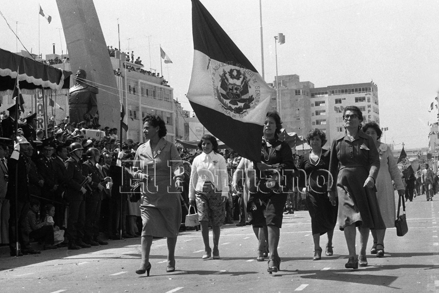 Así fue el rol protagónico de las mujeres tacneñas en el retorno al territorio peruano  ANDINA/archivo
