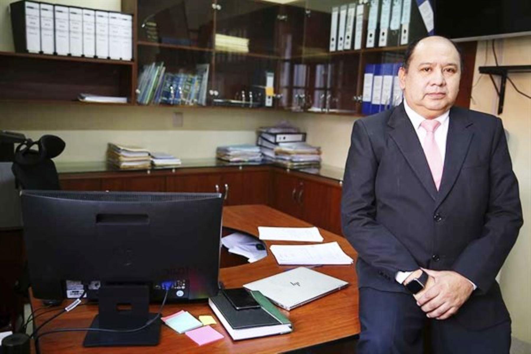 El médico Claudio Ramírez Atencio. Foto: ANDINA/archivo.