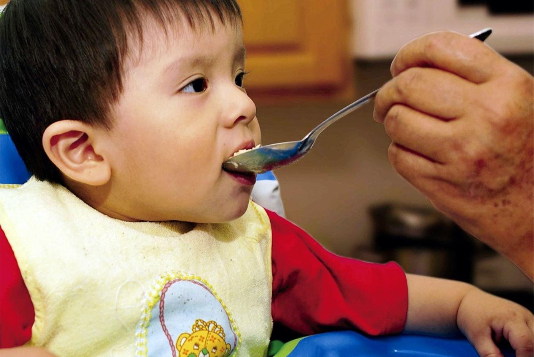 """INS elabora propuesta de """"Guías Alimentarias para niños menores de 2 años"""". Foto: ANDINA/Difusión."""