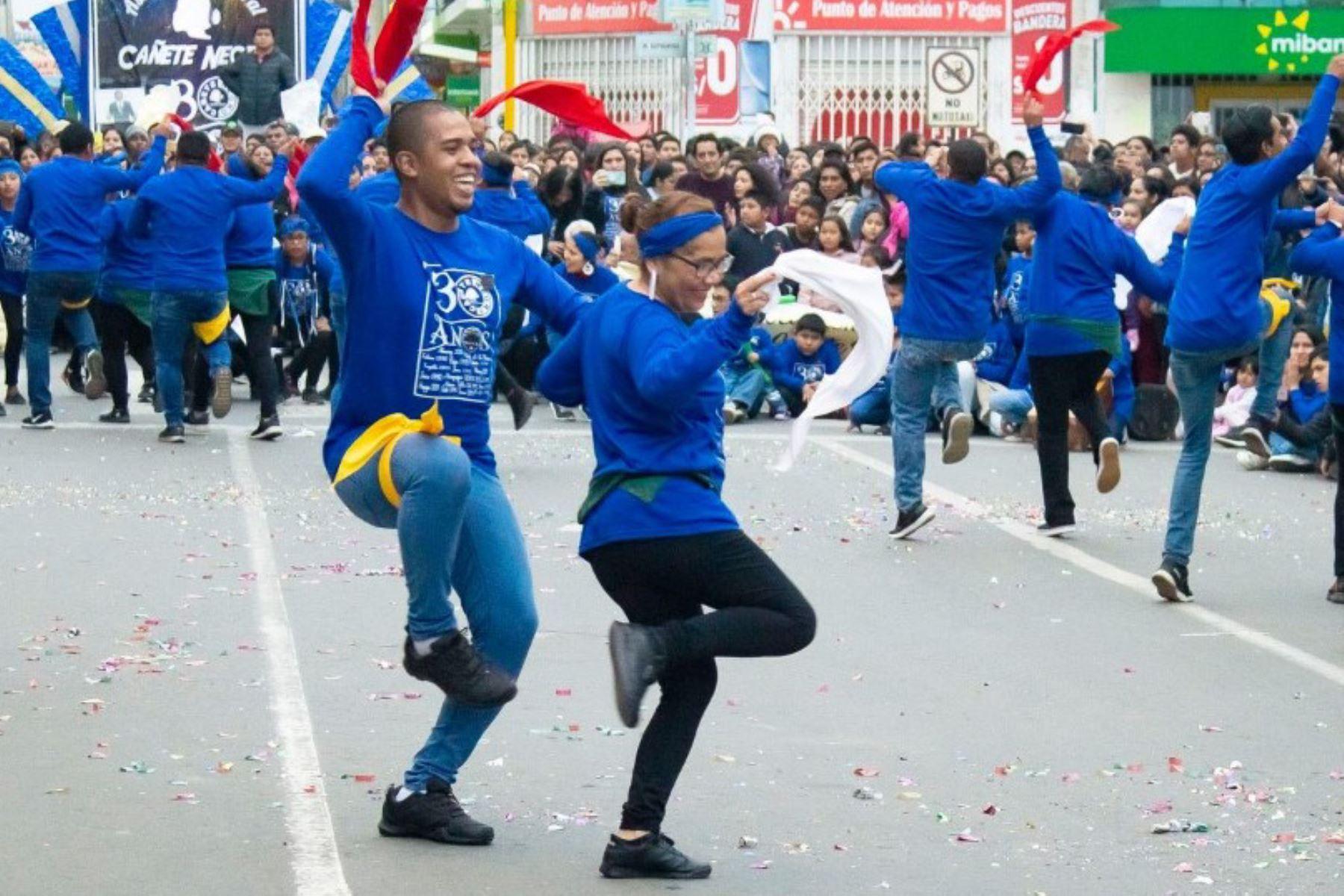 """Cañete es reconocida como """"Cuna y capital del arte afroperuano""""."""