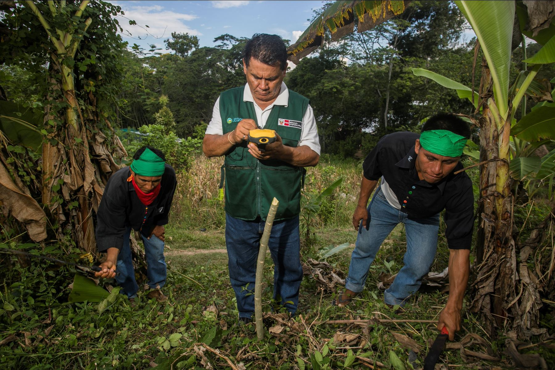 Minagri iniciará trabajo para titular 26 comunidades indígenas de Loreto. ANDINA/Difusión