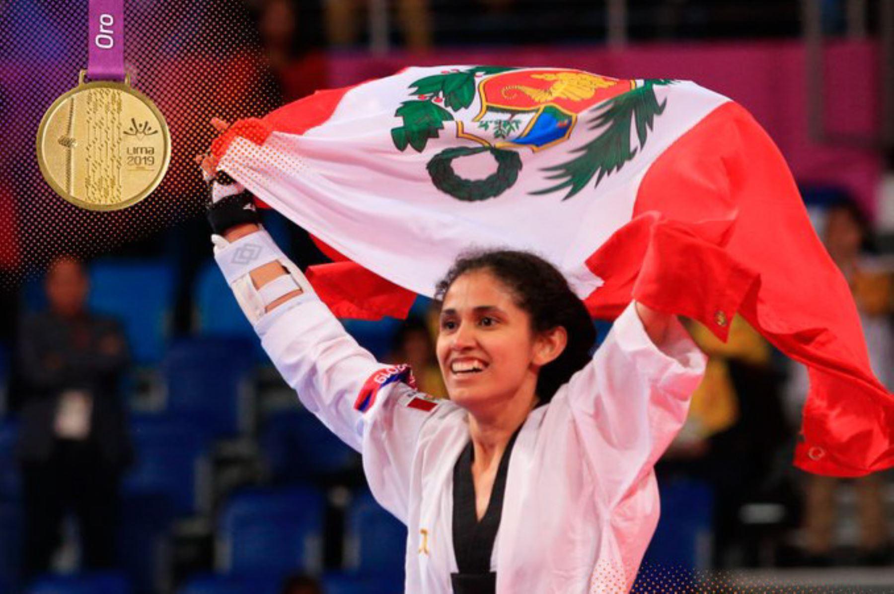 Lima 2019: Angélica Espinoza gana tercera medalla de oro para el Perú en parataekwondo