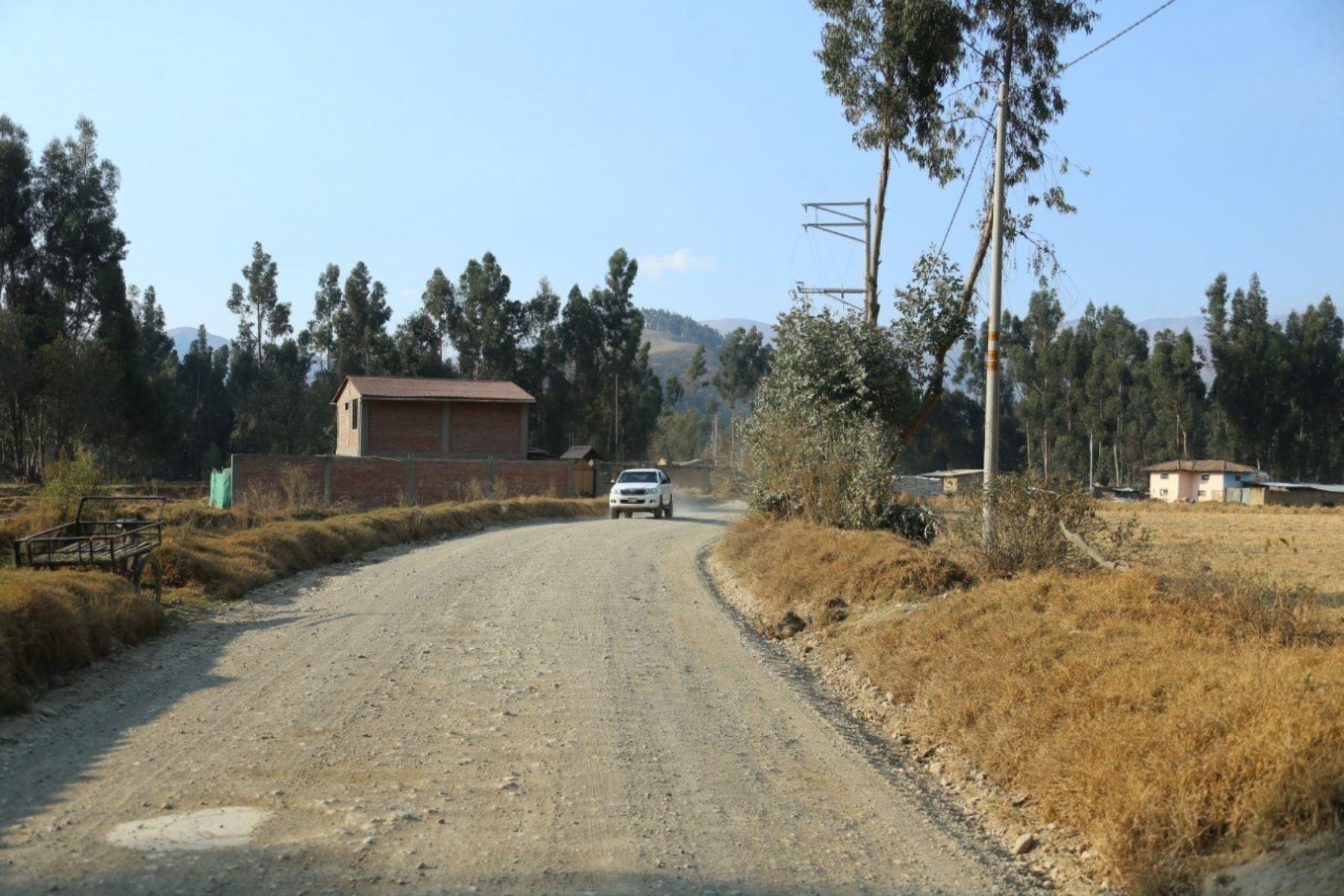 MTC invertirá S/ 195.2 millones para mejorar la carretera de Conchucos que une seis provincias de Áncash. ANDINA/Archivo