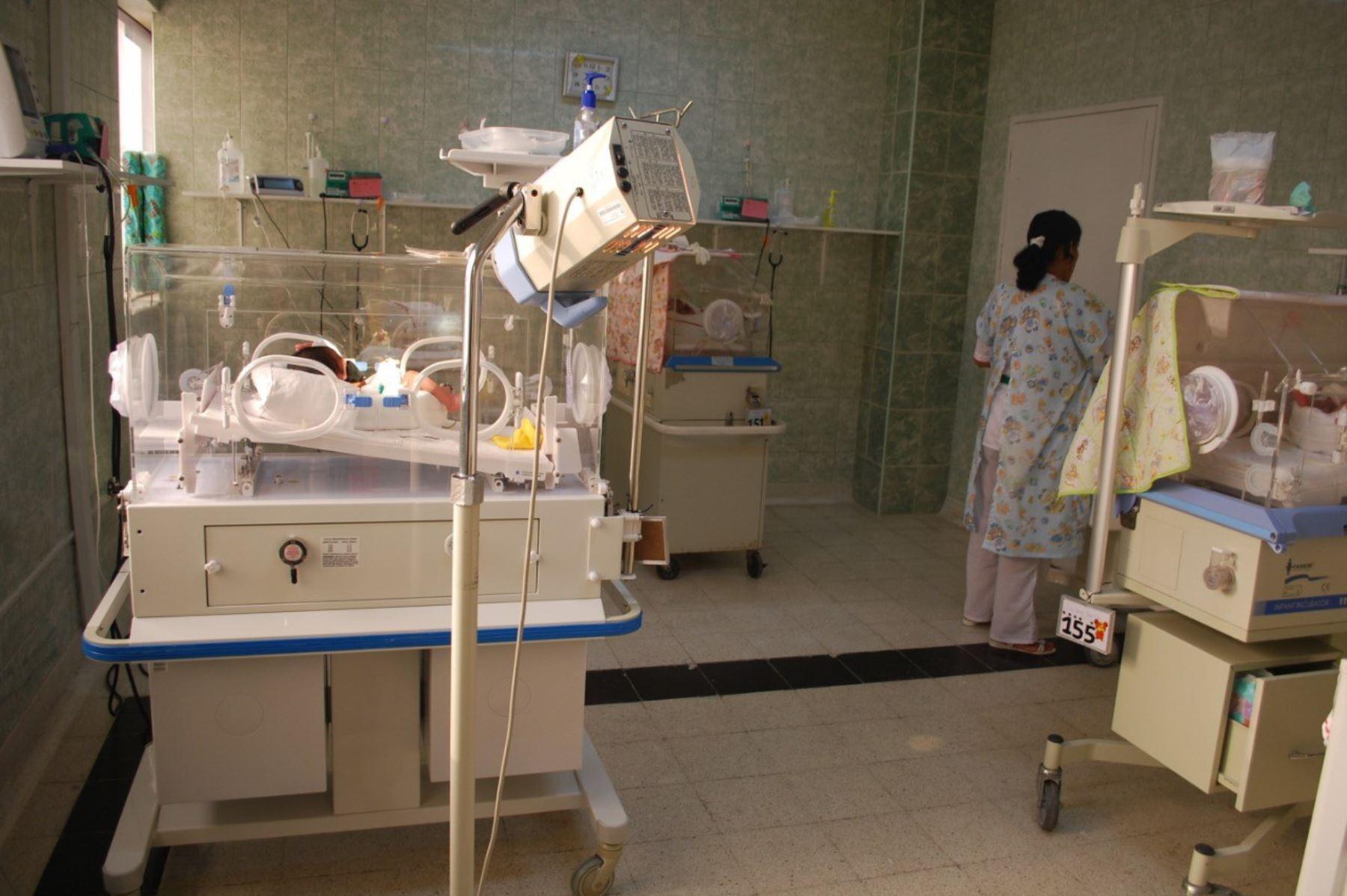 Gobierno Regional de La Libertad invertirá S/ 2.1 millones en áreas de neonatología de dos hospitales de Trujillo. ANDINA/Difusión