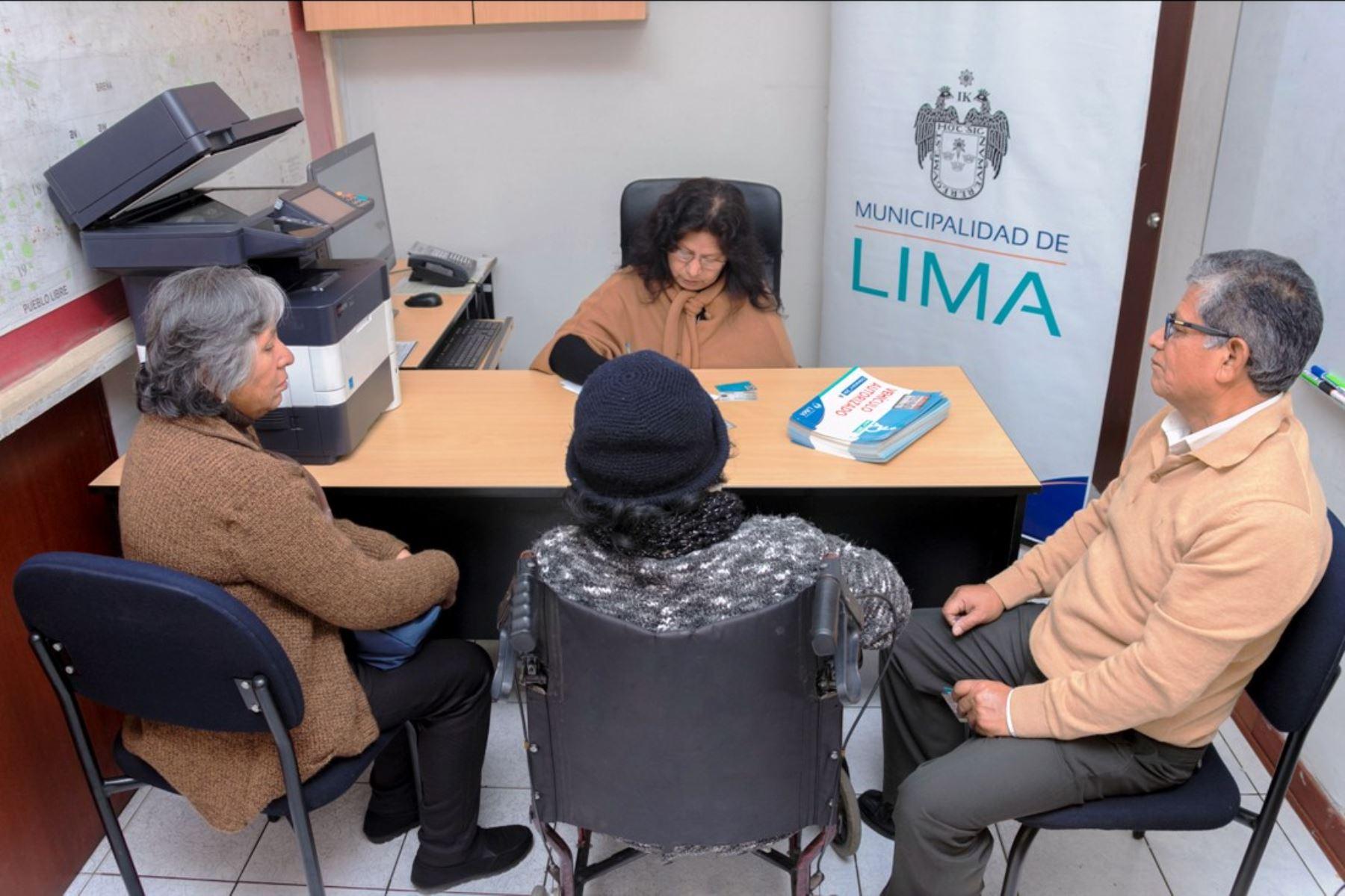 Municipio de Lima inicia registro de vehículos que transportan personas con discapacidad. Foto: ANDINA/Difusión.