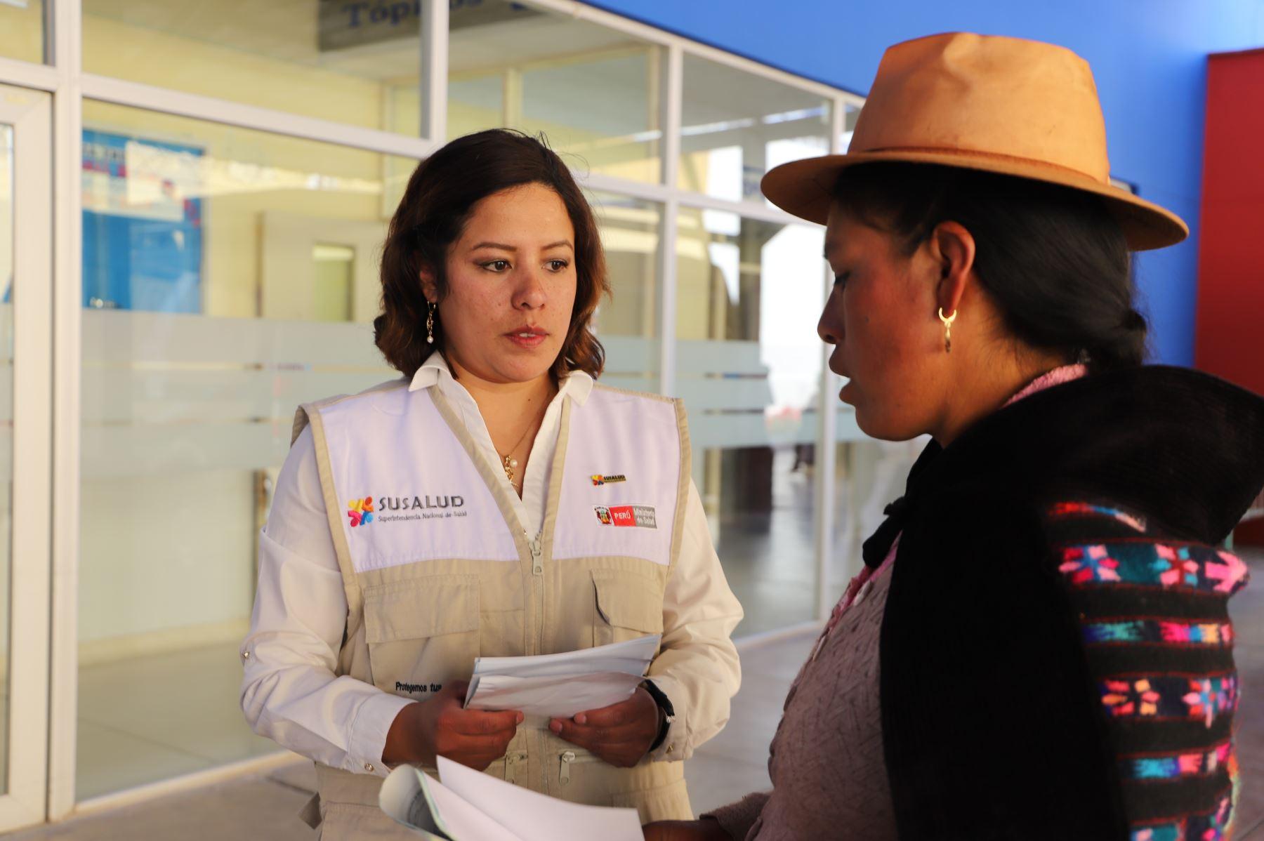 Susalud pone delegados quechua hablantes a disposición de la población