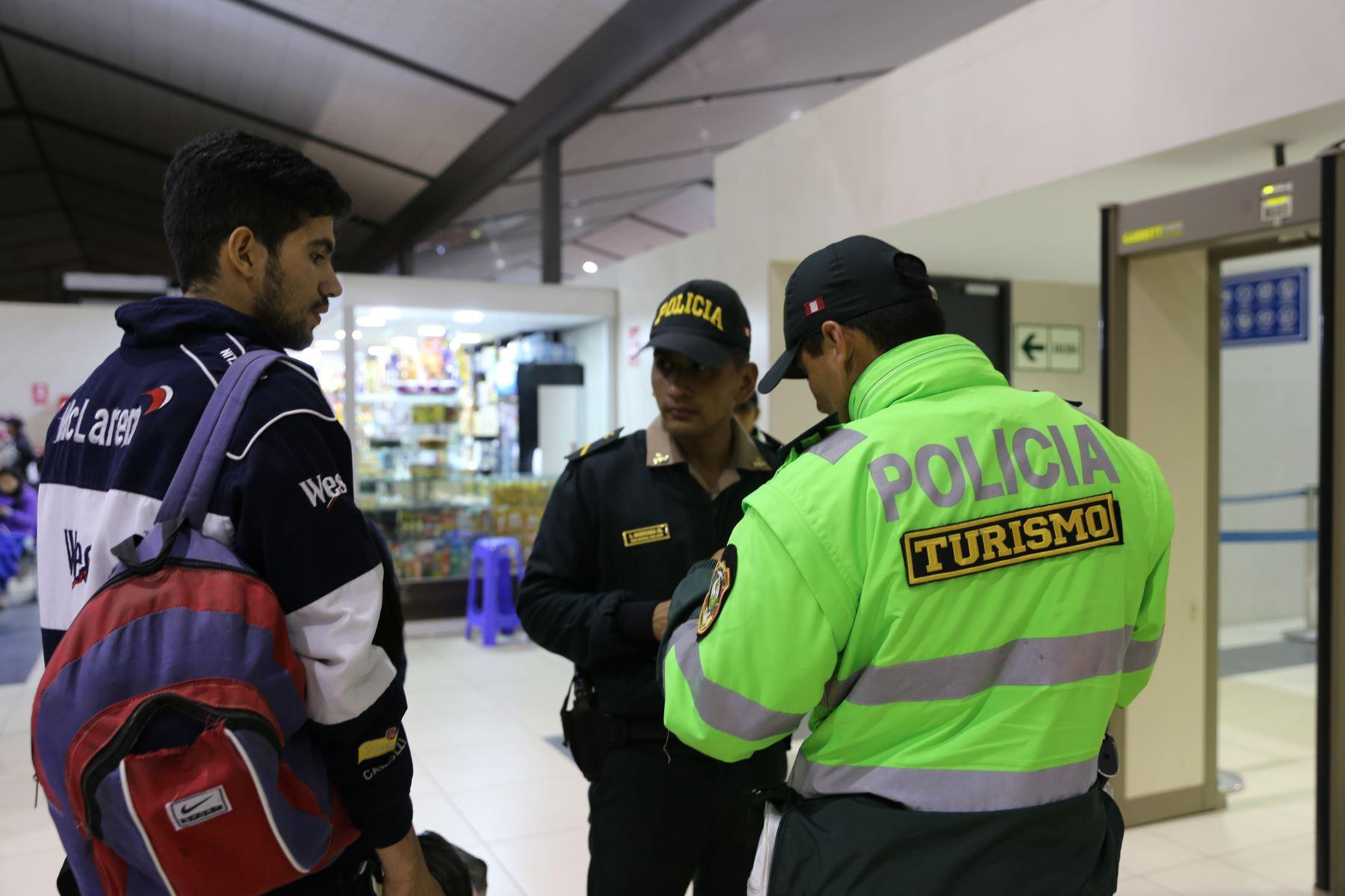 Mincetur implementa estrategia Turismo Seguro en Trujillo con operativos de seguridad. ANDINA/Difusión