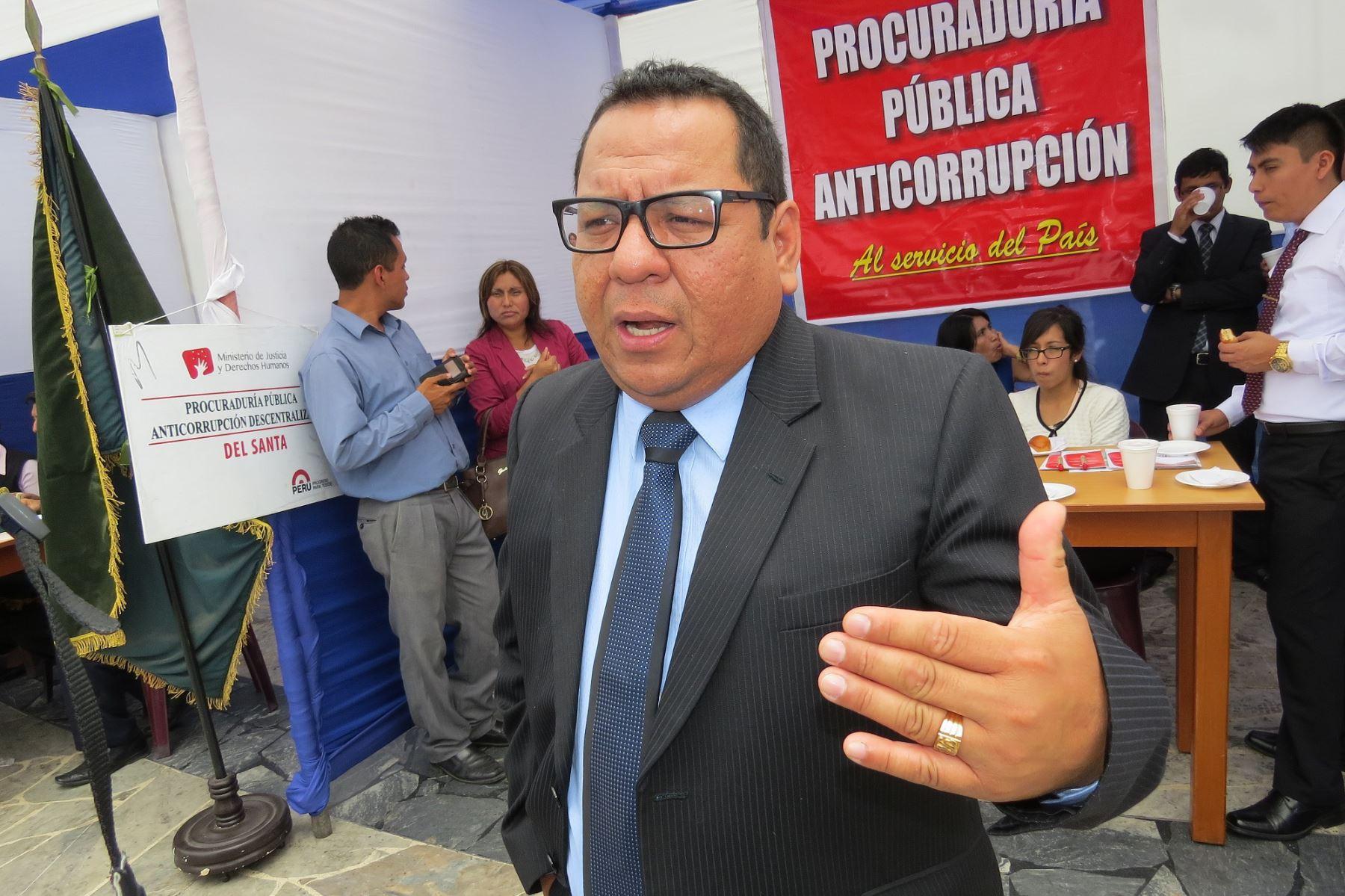 El procurador anticorrupción de la provincia del Santa, Richard Asmat Urcia, señaló que ha solicitado información a la empresa Sedachimbote. Foto: ANDINA/Gonzalo Horna