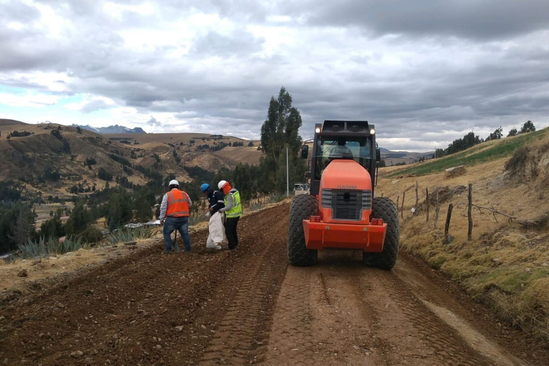 El MTC destina S/ 19 millones para la rehabilitación de la carretera Huarmey-Aija, en Áncash. ANDINA/Difusión