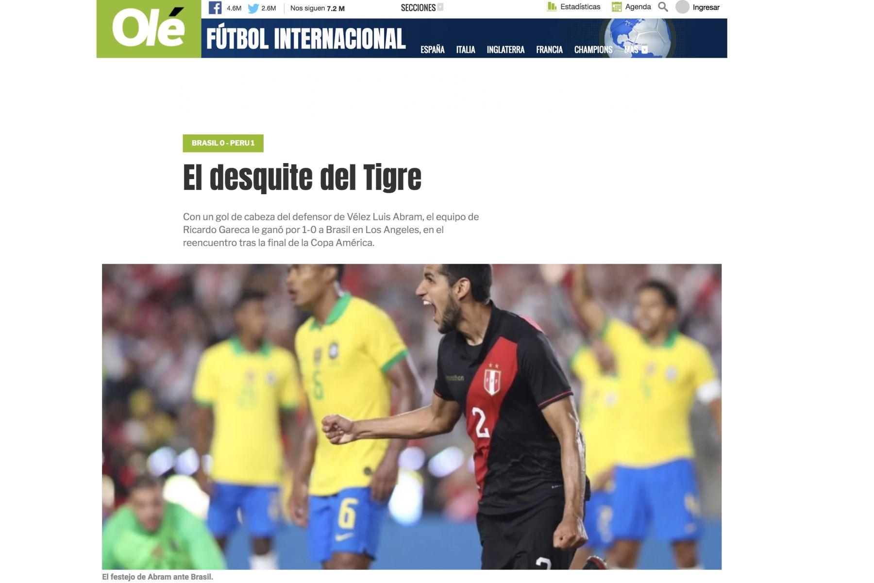 Diario Ole de Argentina