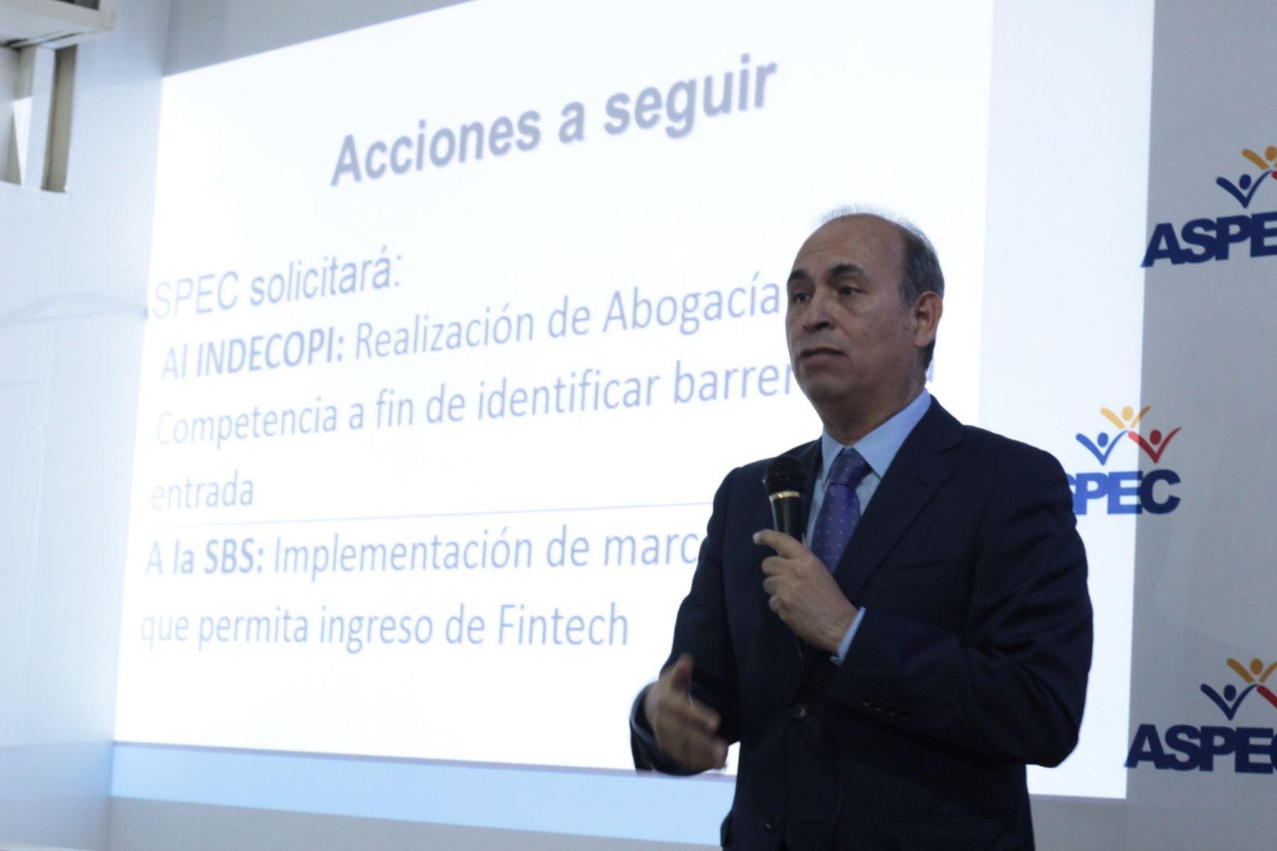 Crisólogo Cáceres, presidente de Aspwc. Foto: Andina/difusión