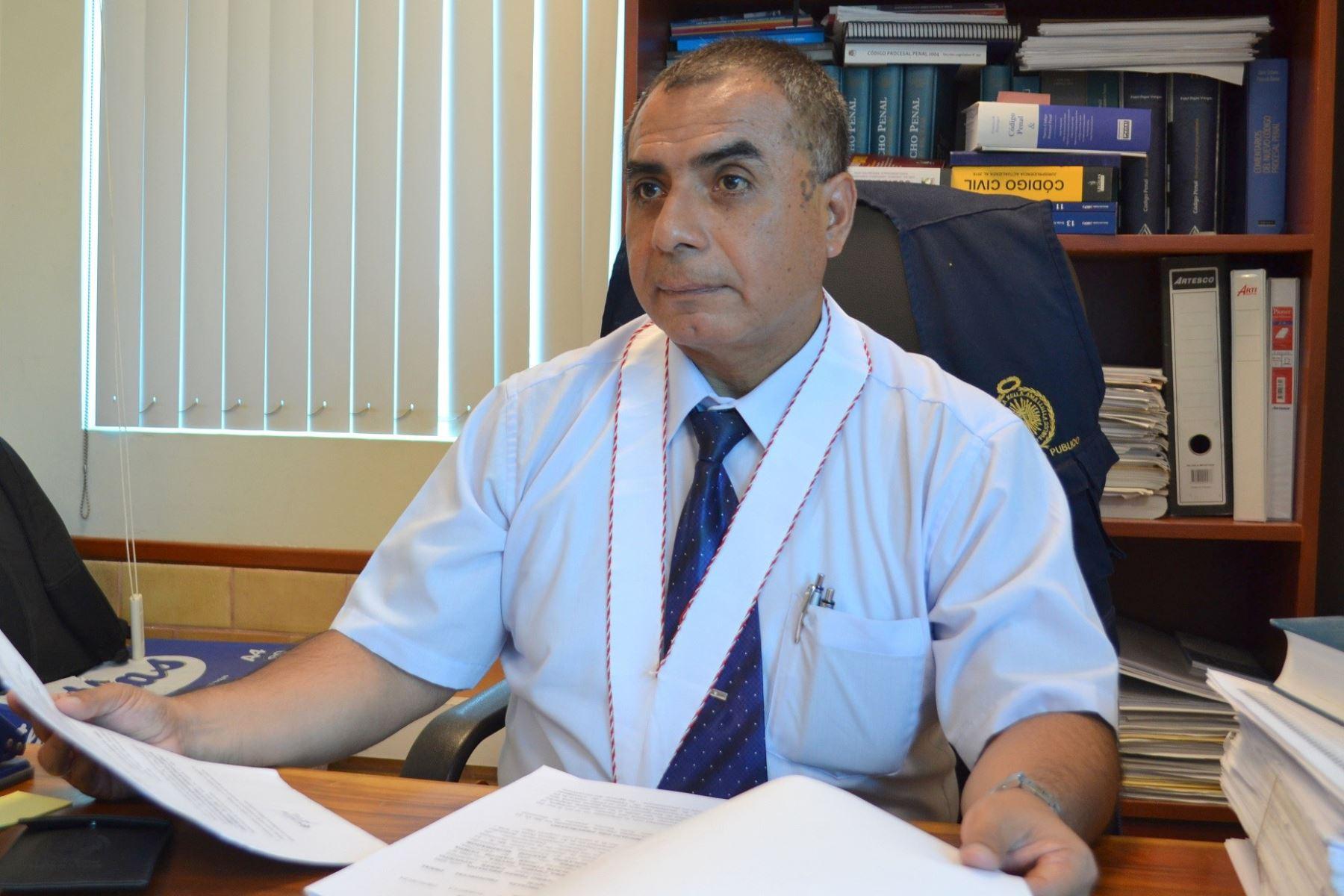 Magistrado de la Segunda Fiscalía Provincial Penal Corporativa de Chiclayo (Lambayeque), Carlos Cáceres Alejos.