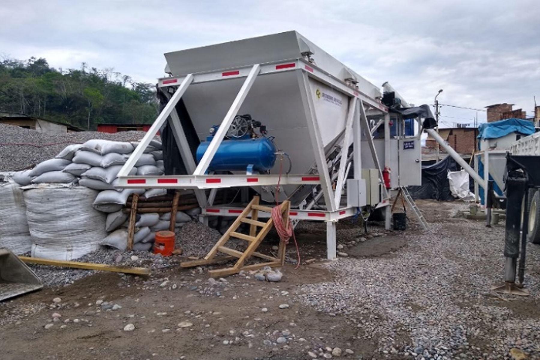 La fabricación de la estructura metálica para el puente Kimbiri-Irapitari se encuentra en proceso, informó Provías Descentralizado..