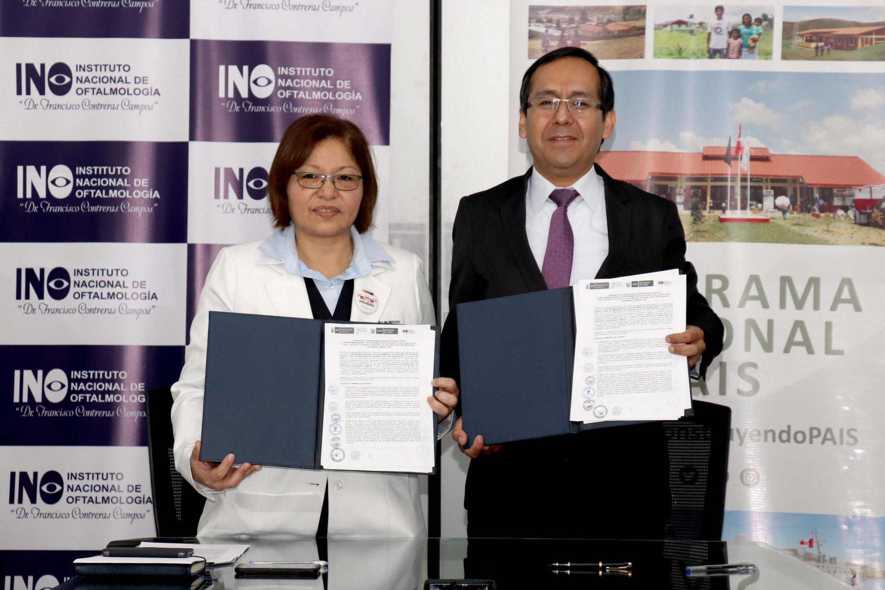 Alianza estratégica entre el INO y el Programa Nacional PAIS permitirá beneficiar a las comunidades rurales de la Amazonía.