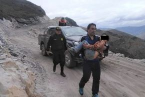Autoridades condecorarán a niño héroe que salvó a su padre en Áncash.Foto:  ANDINA/Difusión.