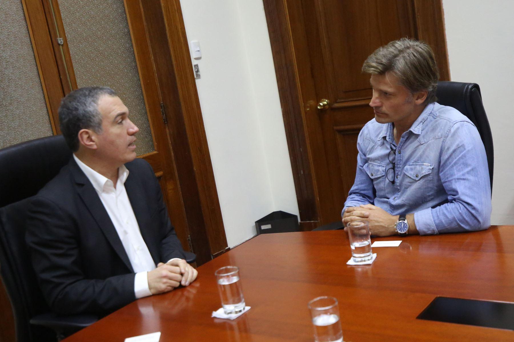 Salvador del Solar y Nikolaj Coster-Waldau