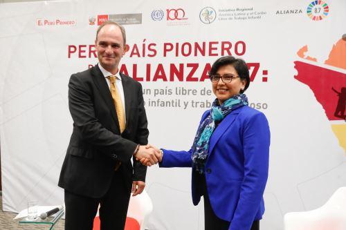 Lanzan alianza para un país libre de trabajo infantil y forzoso
