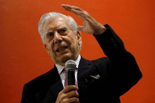 Mario Vargas Llosa. Foto: AFP