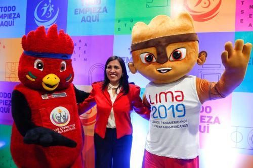 Conferencia de prensa de los XXVII Juegos Deportivos Escolares Nacionales (JDEN) 2019