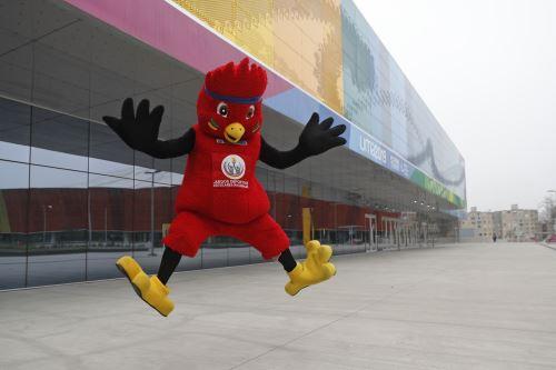Rafito, la mascota oficial de los Juegos Deportivos Escolares Nacionales 2019