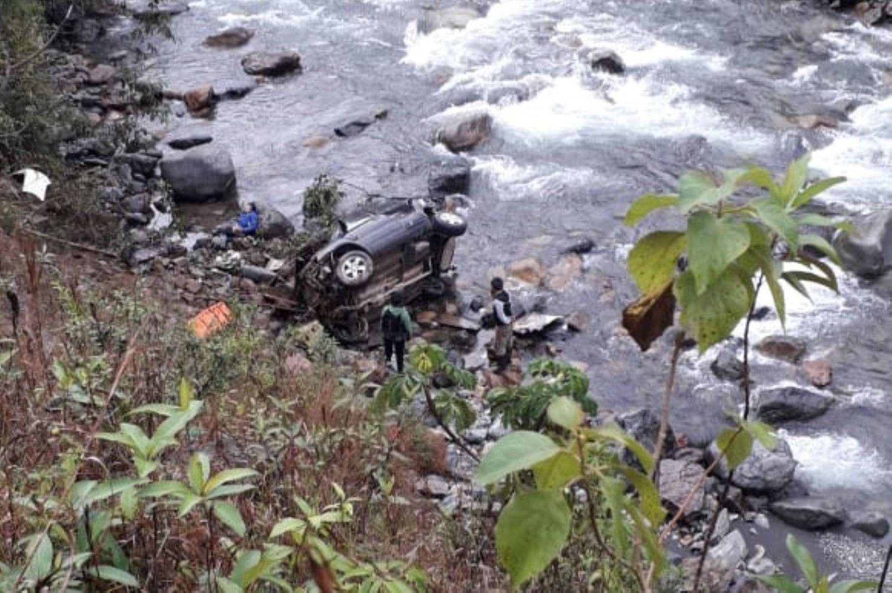 Accidente vial en Cusco deja tres personas muertas y una herida de gravedad. ANDINA/Difusión