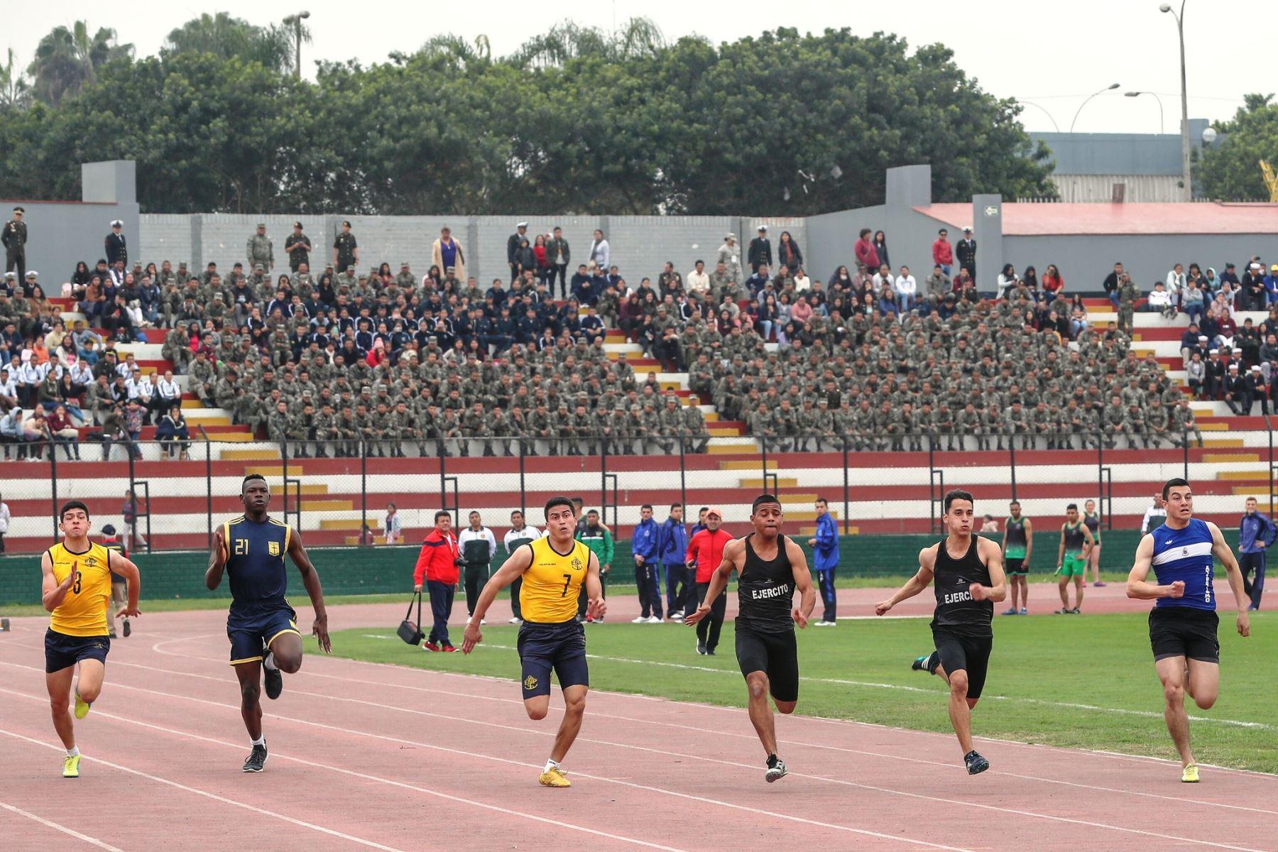 Más de 2,500 miembros de FF.AA. y PNP participan en Juegos Deportivos Militares 2019. Foto: ANDINA/Difusión.
