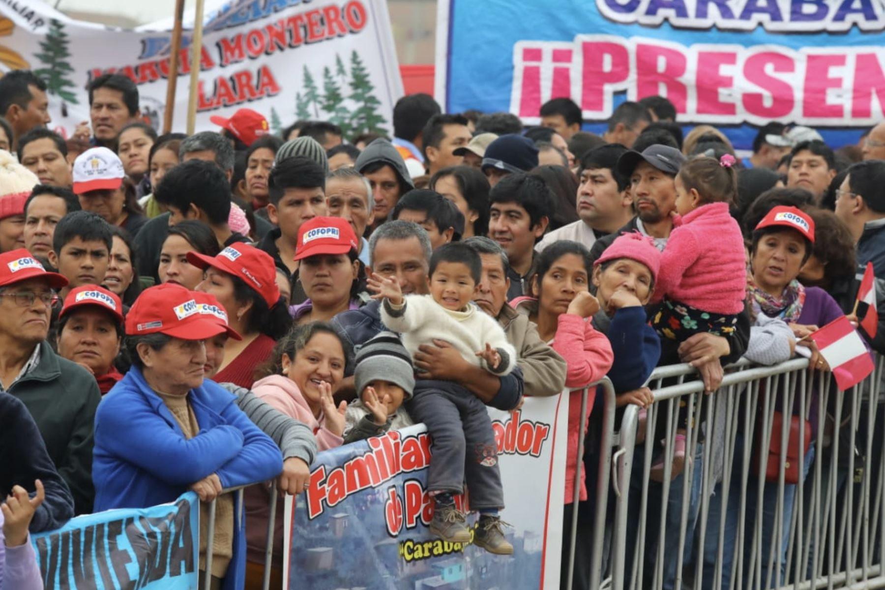 Más de 140 mil ciudadanos de Carabayllo se beneficiaran por obras de agua potable y alcantarillado.  Foto: ANDINA/ Prensa Presidencia