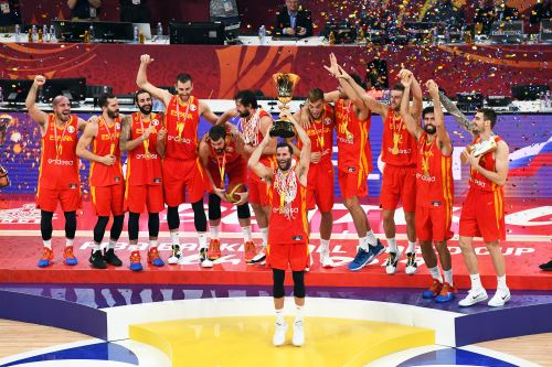 España se consagra por 2da vez campeón del mundo en Baloncesto