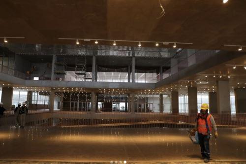 A fin de año culmirá la construcción del Museo Nacional del Perú, ubicado en el distrito de Pachacámac. Foto: ANDINA/Prensa Presidencia