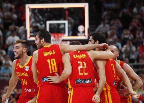 España campeón de Mundial de Baloncesto. Foto: EFE