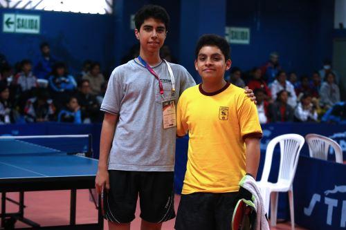 Juegos Escolares 2019: se inicia la etapa final del tenis de mesa en el Estadio Nacional