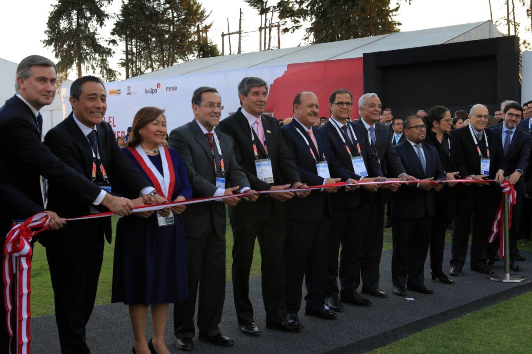 Inauguración de Perumin.