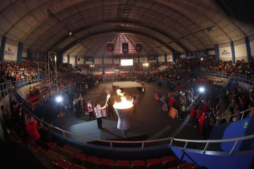 Ceremonia de inauguración de los  XXVII Juegos Deportivos Escolares Nacionales 2019