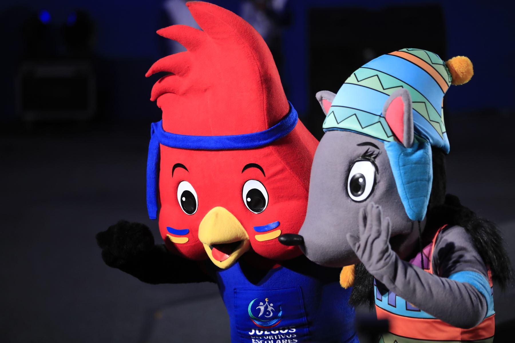 Ceremonia de inauguración de los XXVII Juegos Deportivos Escolares Nacionales 2019, en el Coliseo Bonilla de Miraflores.  Foto: ANDINA/Juan Carlos Guzmán Negrini.