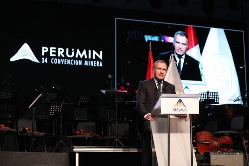 Jefe del Gabinete, Salvador del Solar, inauguró la 34 Convención Minera Perumin, en Arequipa