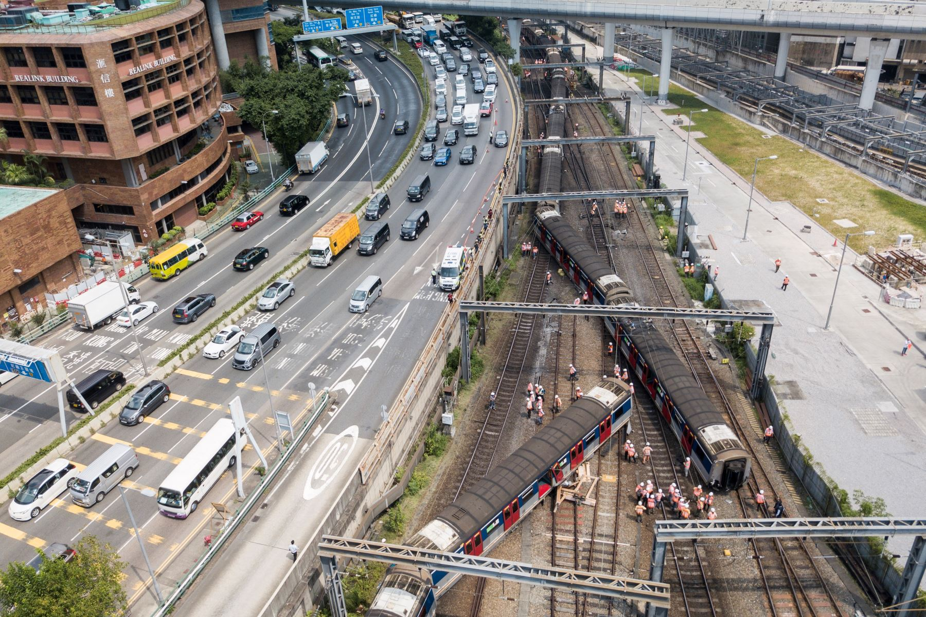 La causa del descarrilamiento estaba siendo investigada. Foto: AFP