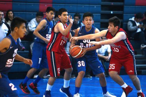 Juegos Escolares 2019: continúan los partidos de básquet en el colegio La Recoleta de La Molina